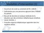modalit s d intervention 1