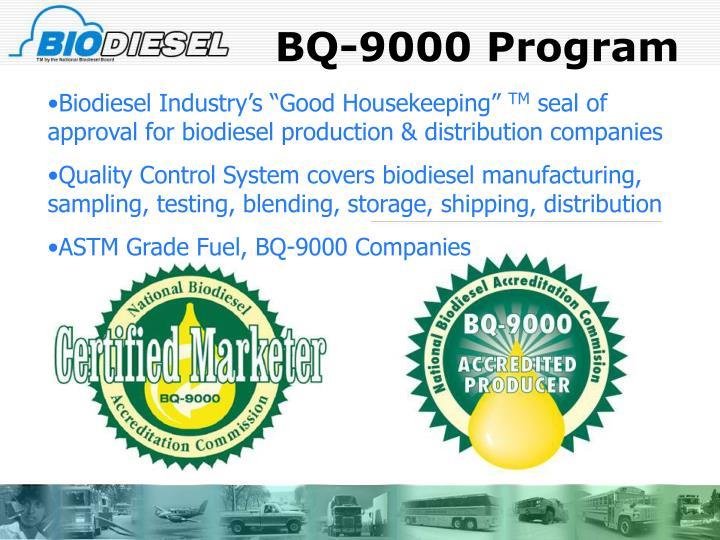 BQ-9000 Program