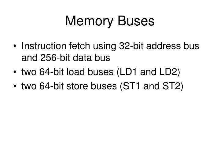 Memory Buses