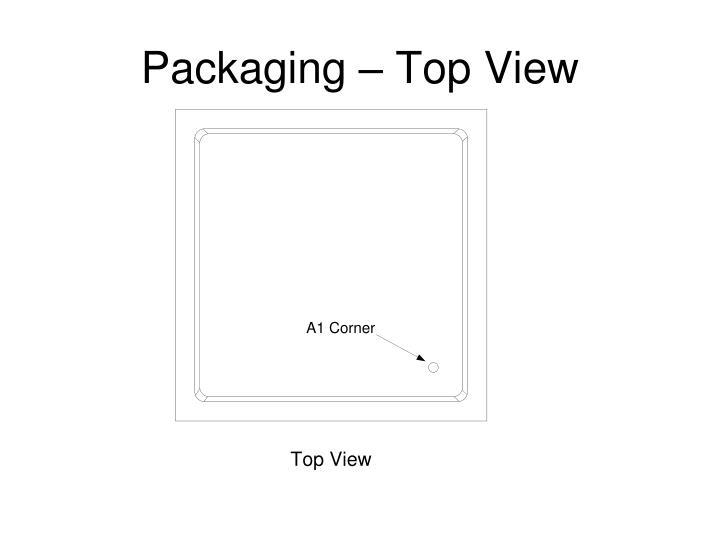 Packaging – Top View