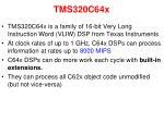 tms320c64x