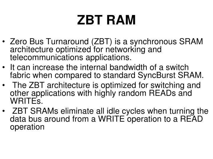 ZBT RAM