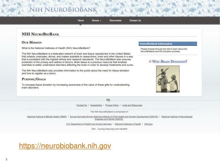Https://neurobiobank.nih.gov