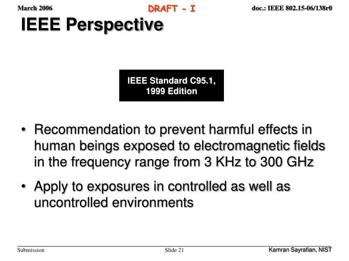 IEEE Perspective