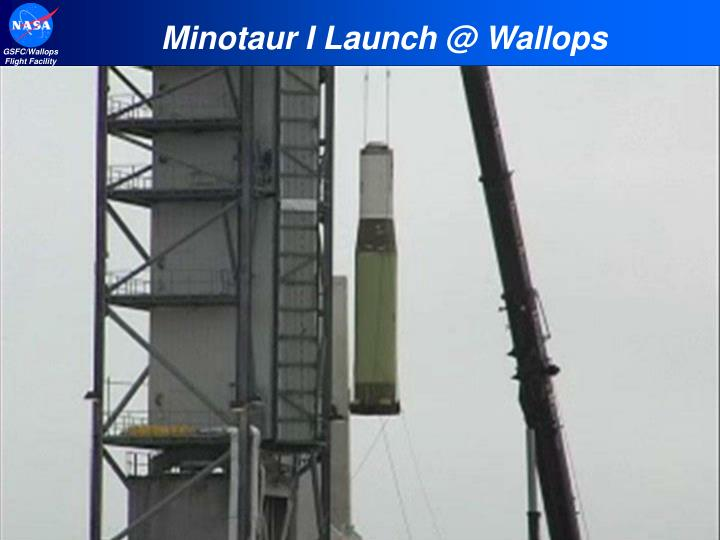 Minotaur I Launch @ Wallops