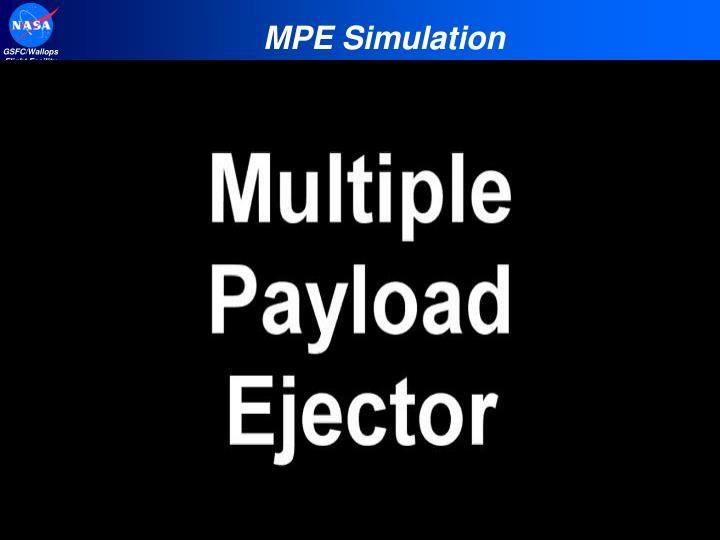 MPE Simulation