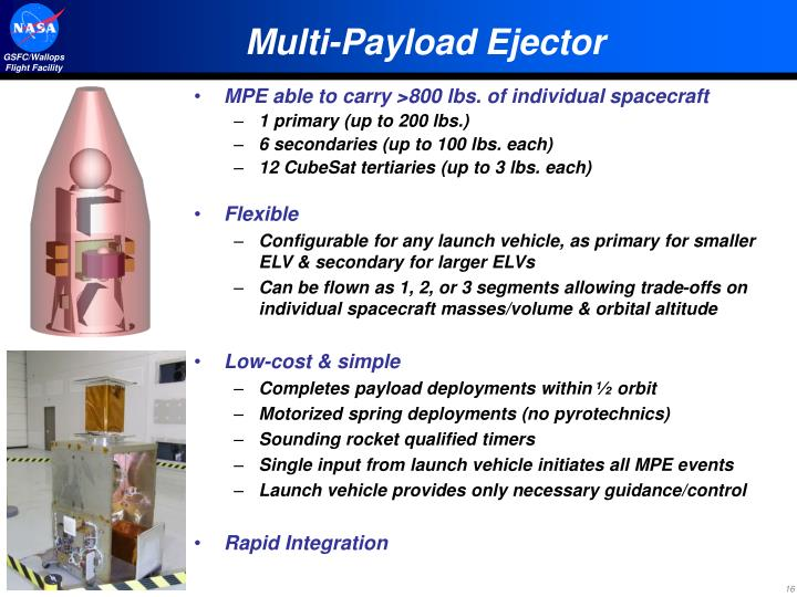 Multi-Payload Ejector