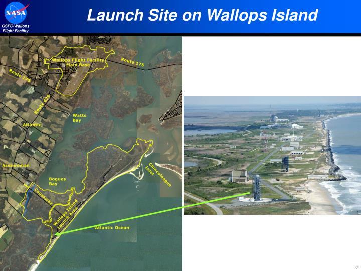Launch Site on Wallops Island