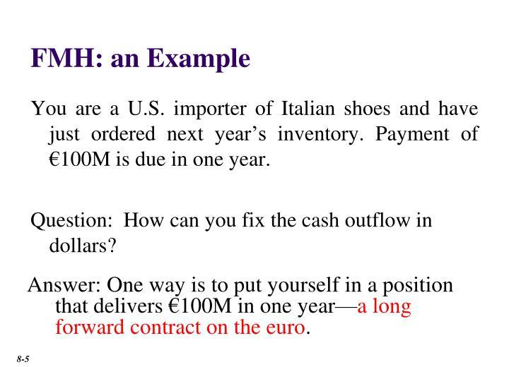 FMH: an Example