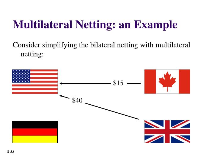 Multilateral Netting: an Example