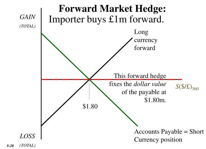Forward Market Hedge: