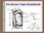 far detector super kamiokande