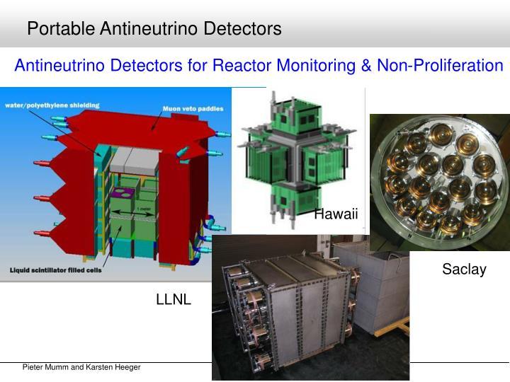Portable Antineutrino Detectors