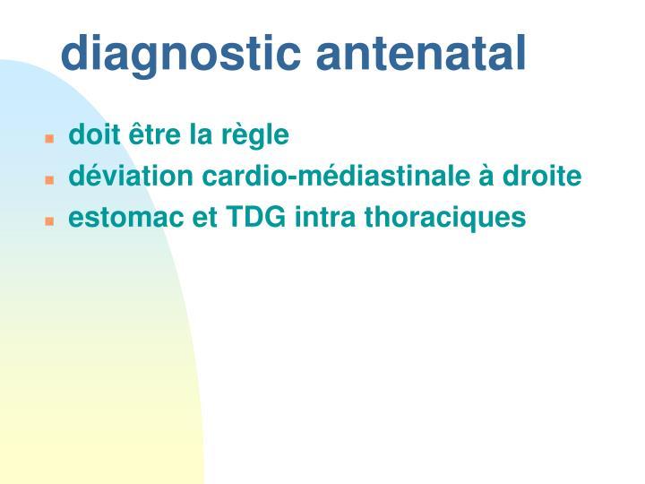 diagnostic antenatal