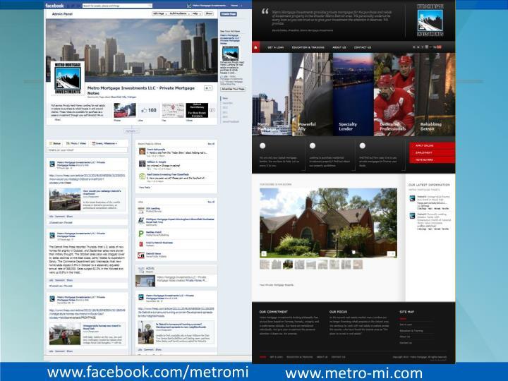 www.facebook.com/metromi