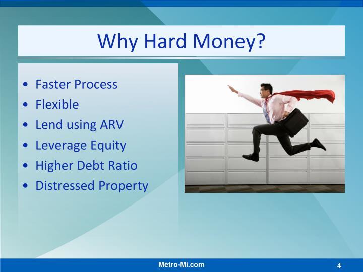 Why Hard Money?