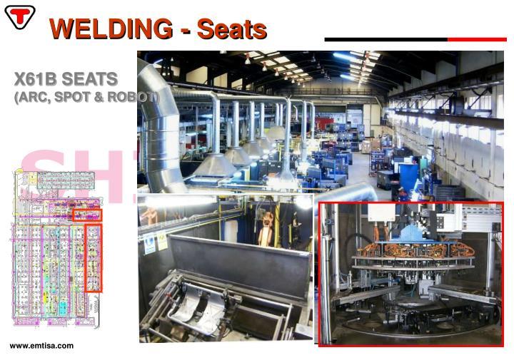 WELDING - Seats