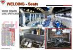 welding seats