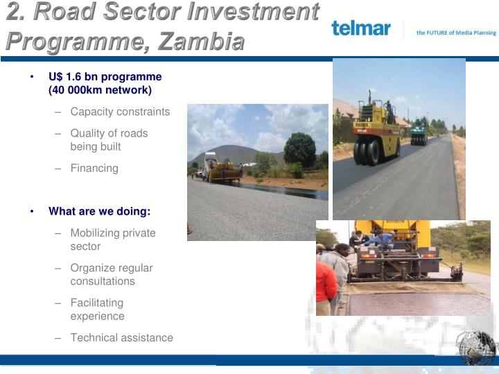 2. Road Sector Investment