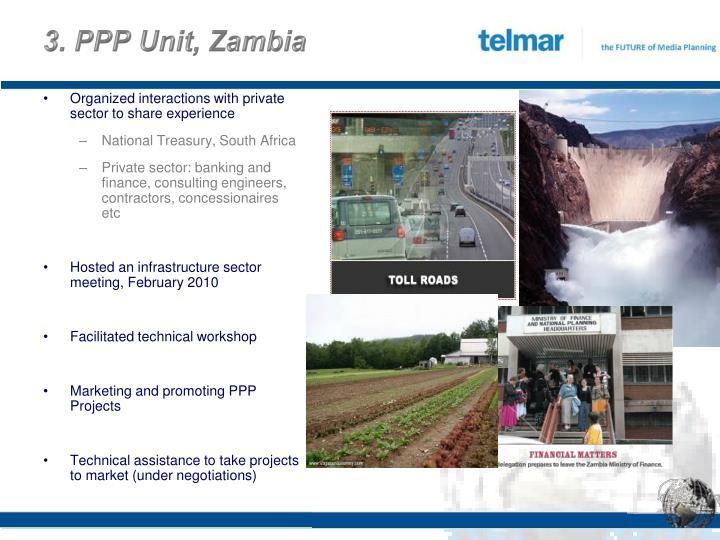 3. PPP Unit, Zambia