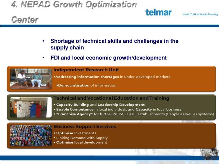 4. NEPAD Growth Optimization Center