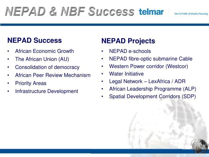 NEPAD & NBF Success
