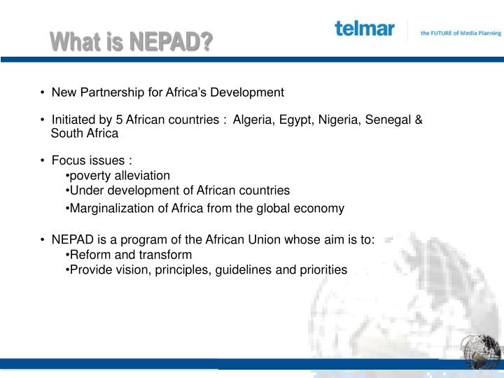What is NEPAD?