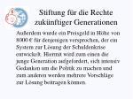 stiftung f r die rechte zuk nftiger generationen1