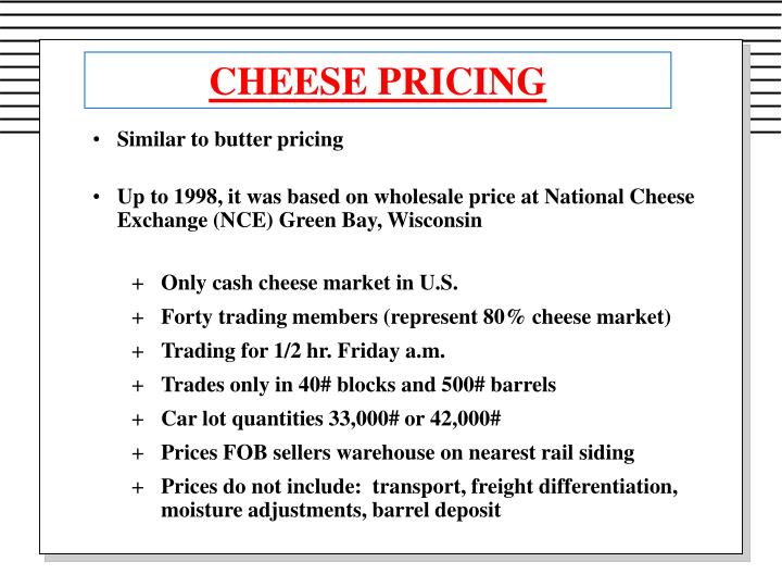 Cheese pricing1