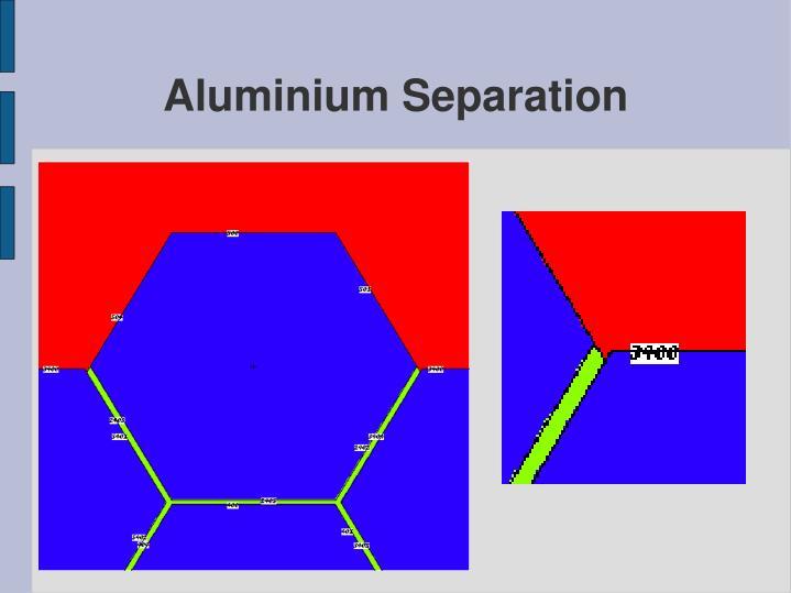 Aluminium Separation