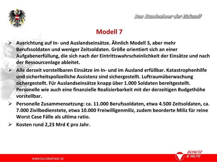 Modell 7