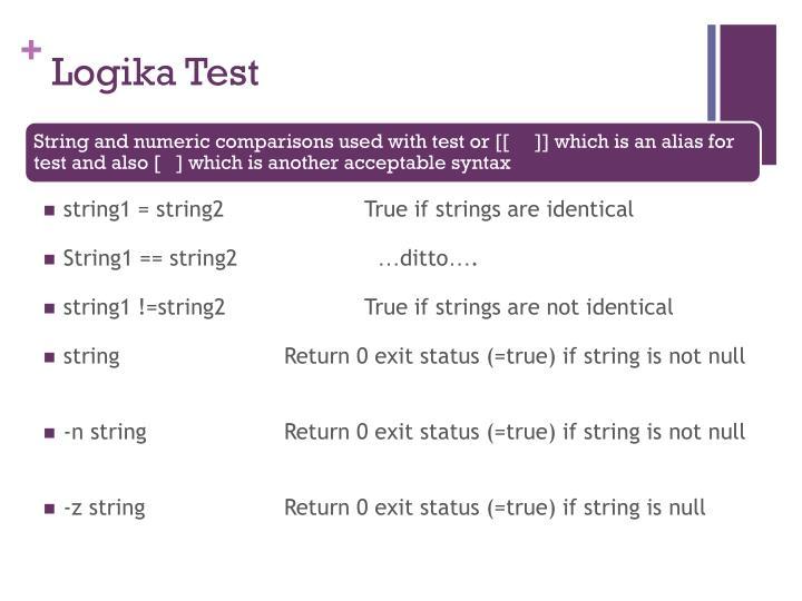 Logika Test