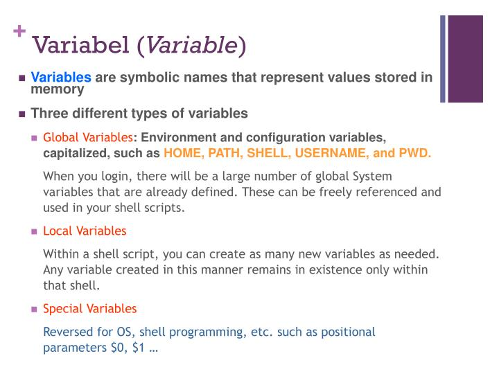 Variabel (