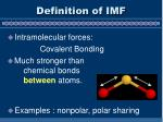 definition of imf1