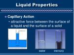 liquid properties1