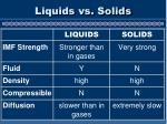 liquids vs solids