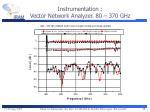 instrumentation vector network analyzer 80 370 ghz
