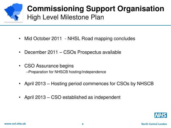 Commissioning Support Organisation