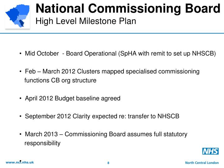 National Commissioning Board