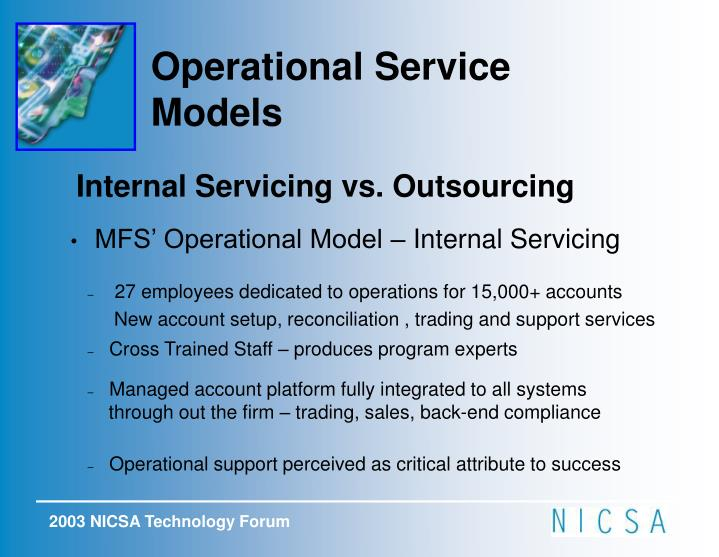 Operational Service Models