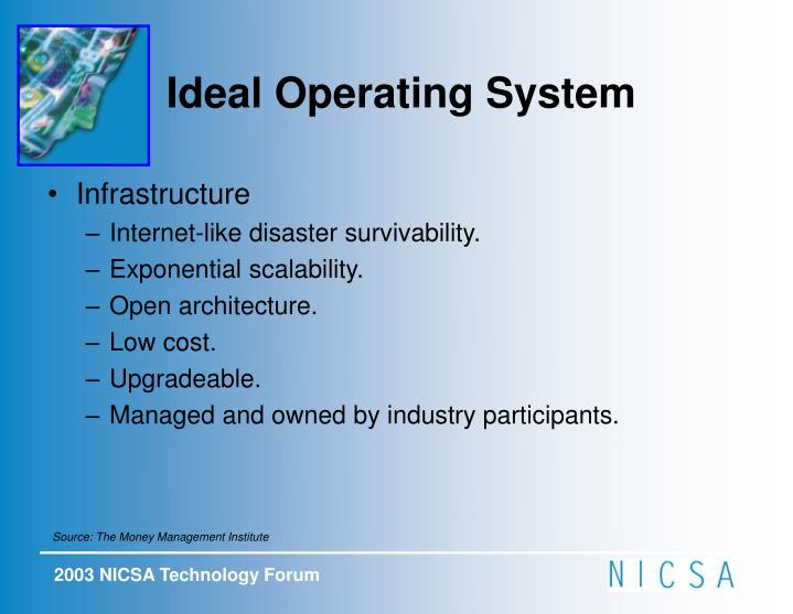 Ideal Operating System