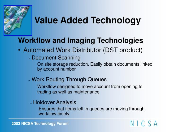 Value Added Technology