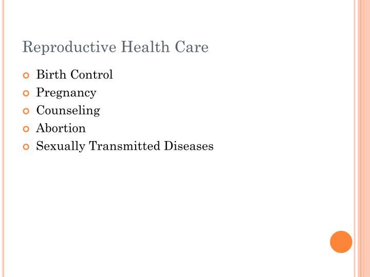 Reproductive Health Care