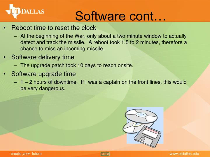 Software cont…