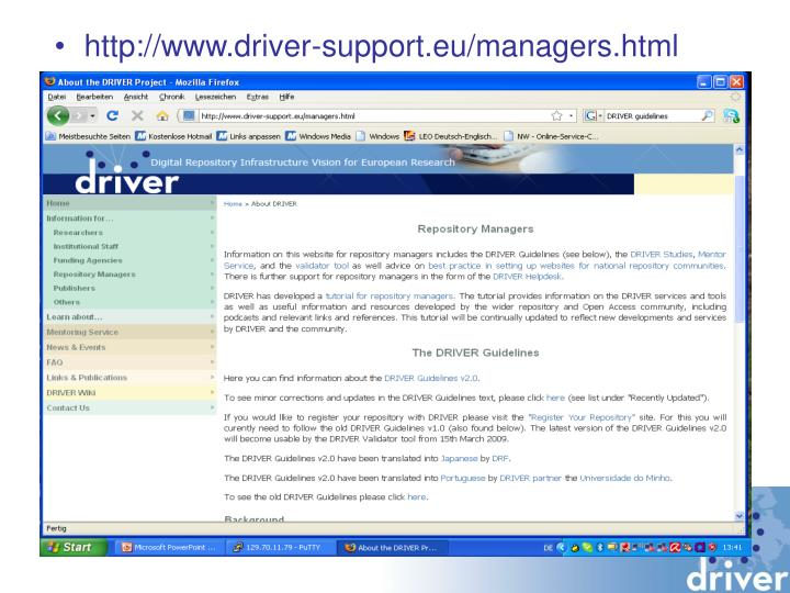 http://www.driver-support.eu/managers.html