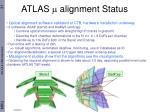 atlas m alignment status
