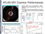 atlas sr1 cosmics performances