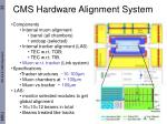 cms hardware alignment system