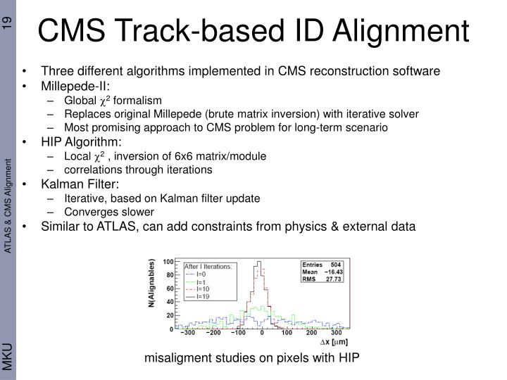 CMS Track-based ID Alignment