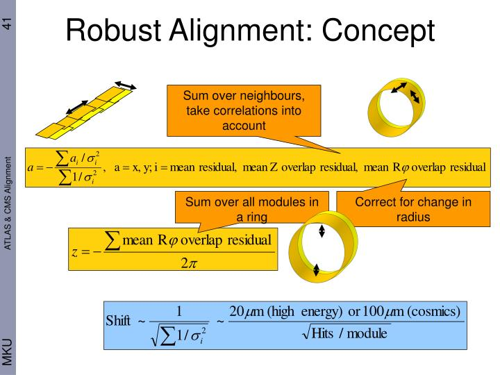 Robust Alignment: Concept